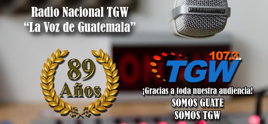 Radio nacional tgw festeja su 89 aniversario