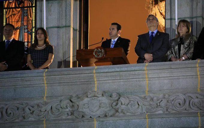 presidente de Guatemala Jimmy Morales Independencia