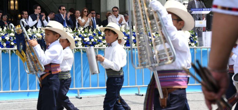 Desfile escolar primaria Guatemala