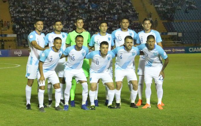 Guatemala vence a Anguila 10-0