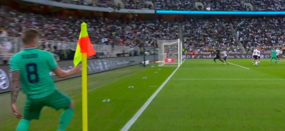 Gol de Toni Kroos, Olímpico